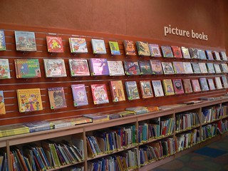 Picture books section. | by San José Public Library