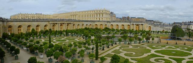 Panorama Orangerie - Versailles