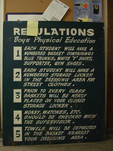 Regulations | by Stephen Cummings