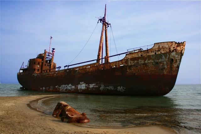 shipwreck...