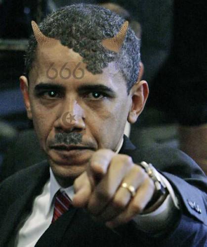 Obama 666 Mark of the Beast