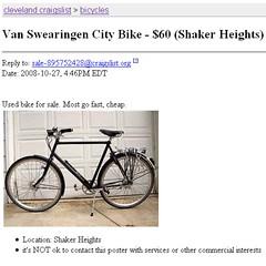 "Suspicious Cleveland Craigslist Ad | ""Van Swearingen [sic ..."