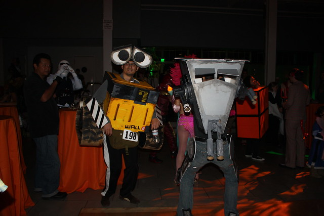 wall-e and the at-st