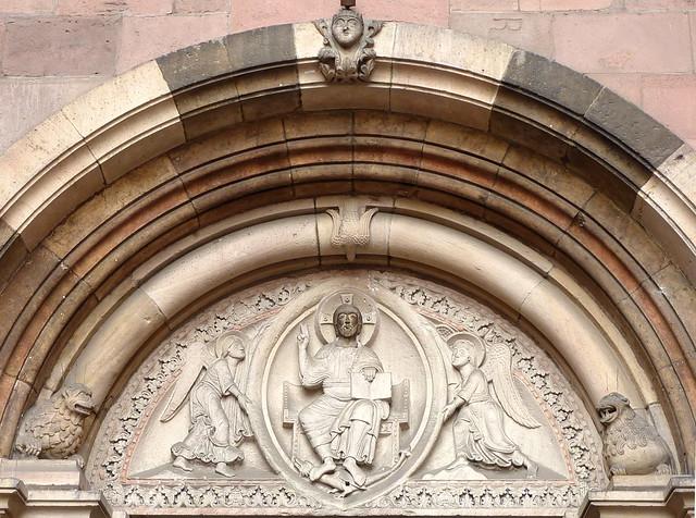Mainz Dom Nordportal detail