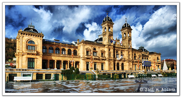 San Sebastian - Donostia. Ayuntamiento.