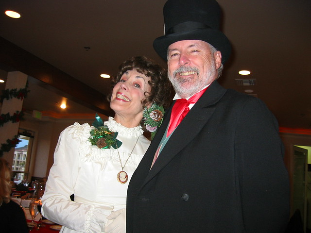 Our Dickensian hosts
