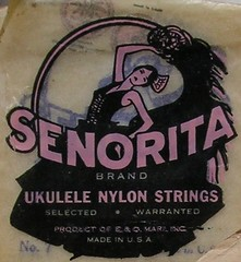 ukulele strings packaging | by bunky's pickle
