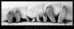 family feet of four   by Kenny Marek Møller