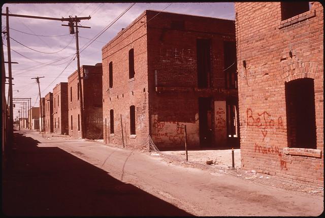 Alley Off 3rd Avenue in the Area of El Paso, 06/1972