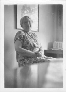 Grandma Crowle (nee Sparshott) 25-12-57