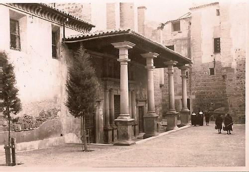 Santo Domingo el Real, años 50. Fotografía de Eduardo Butragueño Bueno