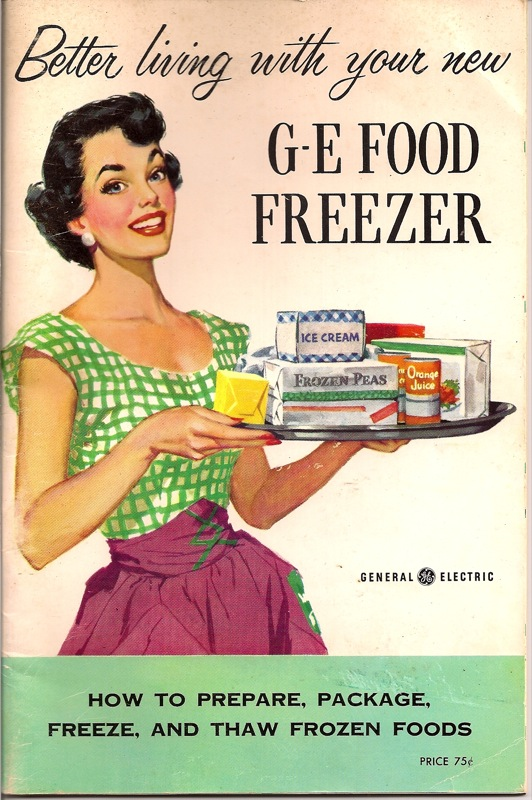 Better living with your new GE Food Freezer