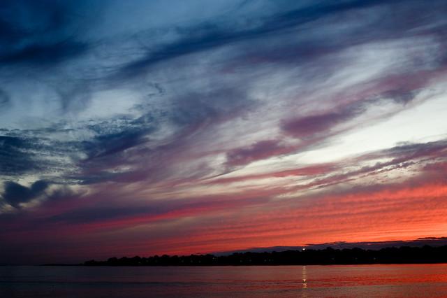Sunset Sky - Groton, CT