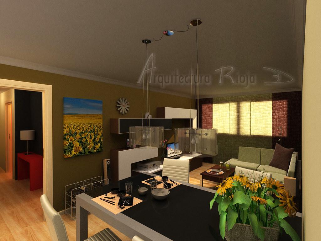 Fotos De Salon Comedor.Salon Comedor Arquitectura Rioja3d Flickr
