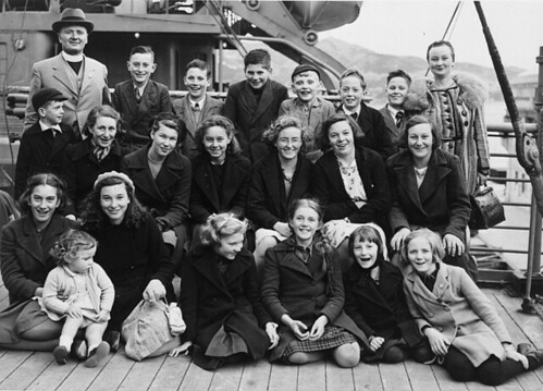 Evacuees to New Zealand | by The National Archives UK