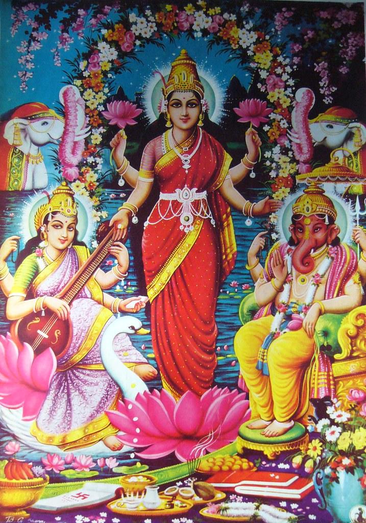 Ganesh laxmi photo