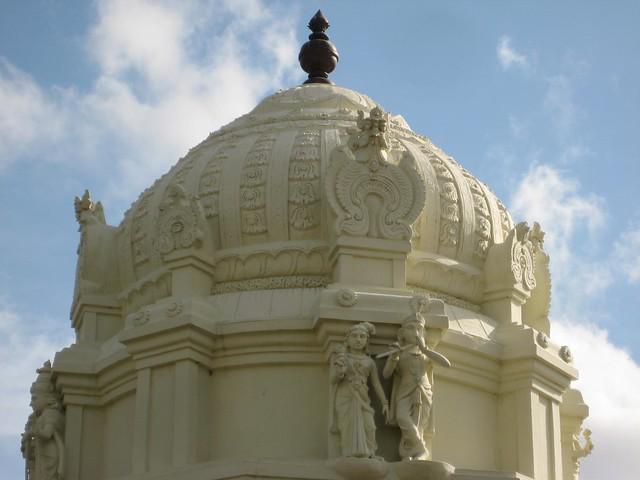 Andal shrine vimanam