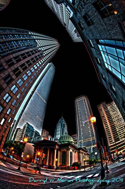 Center City Philadelphia 2011 Night (hdr)