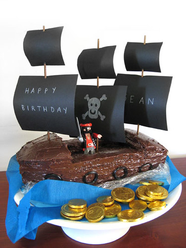 Pirate Ship Birthday Cake | by Karen Cheng