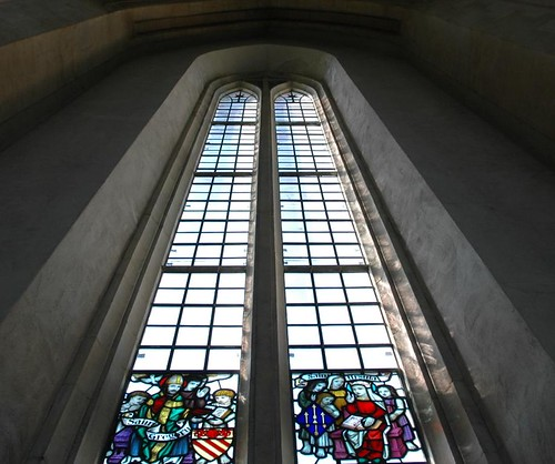 Photo of stained class at Guilford Catherdral