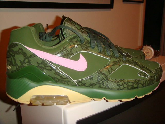 size 40 b86a3 18563 ... NIKE AIR MAX 180 COWBOY SOLE COLLECTOR MIAMI (green   pink)   by  Superkix