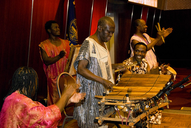 Okropong | Okropong plays traditional music from Ghana  They