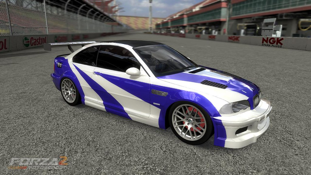 Need For Speed Most Wanted Bmw M3 Gtr In Forza Motorsport Flickr