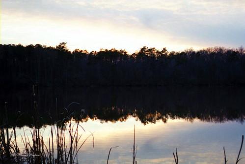 sunset lake hike oldmill waterwheel