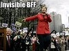 Hillary Has Imaganarie Friends?