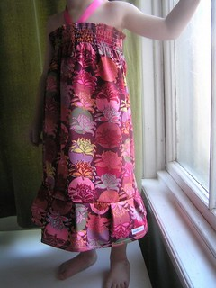 """Dress made with  """"Potpourri"""" Collection made by Coochooloo"""
