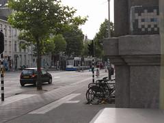Invader in Amsterdam