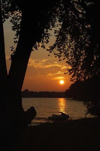 sunset lake nature water wisconsin clouds evening dock jetski beaverdam beaverdamlake foxlake horwath dodgecounty foxlaketownship rayhorwath mygearandmepremium
