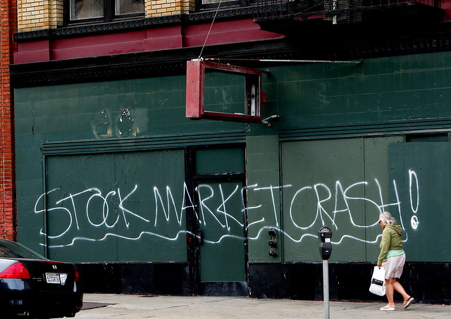 Stock Market Crash Mission St. Grafitti