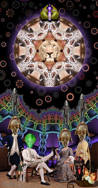 LARRY CARLSON, LION LODGE, c-print, 34x24in., 2008.