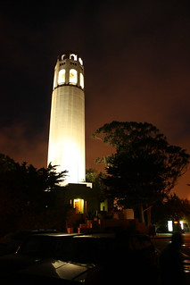 coit_tower_by_night | by Bruno's Flickr