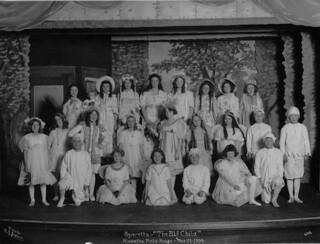 Play at Hiawatha Fieldhouse, 1914