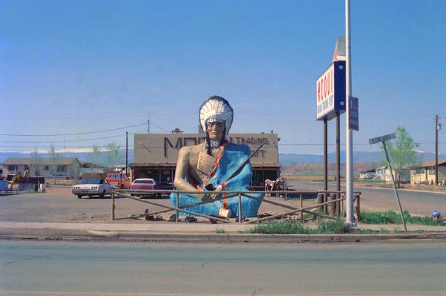 Moqui Trading Post, Roosevelt, Utah 1976