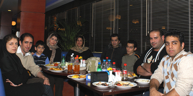 A Small Gathering of Flickr Members in Tehran