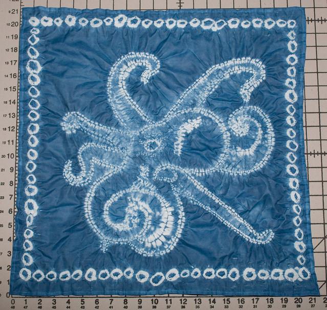 Cephalopod shibori