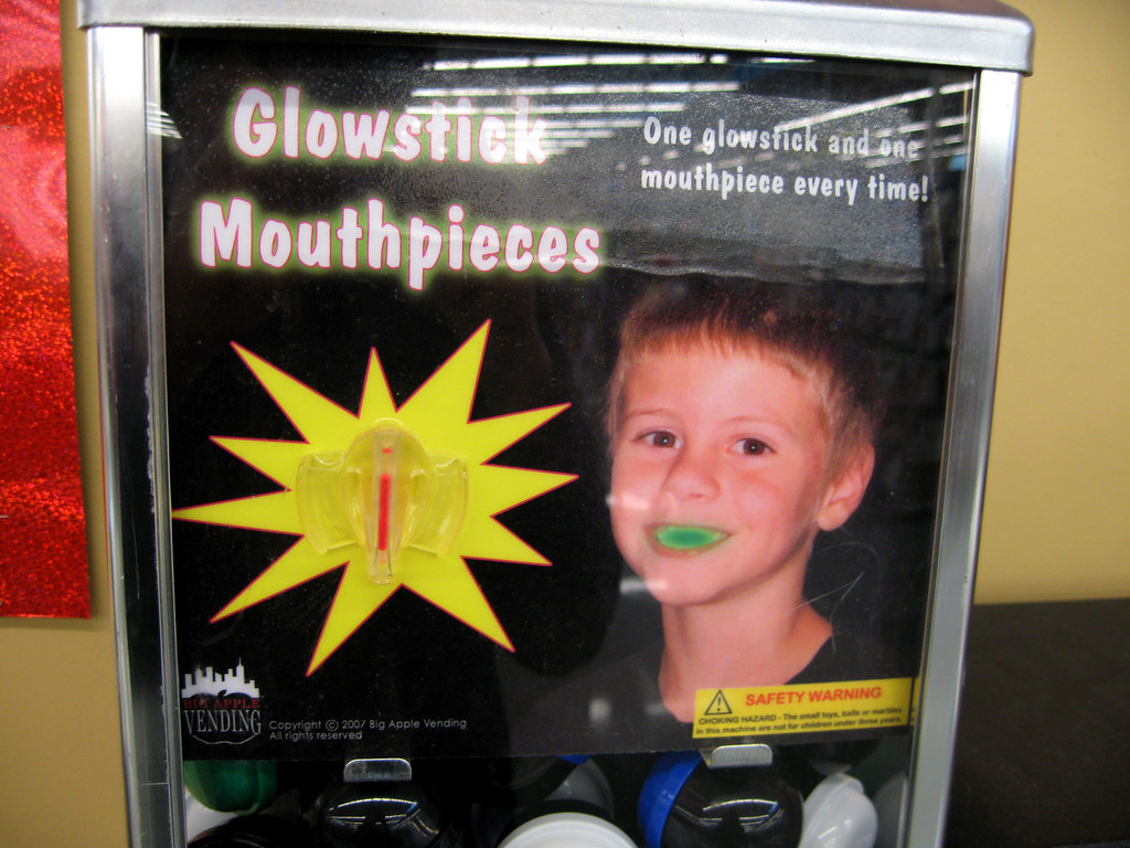 Glowstick Mouthpieces
