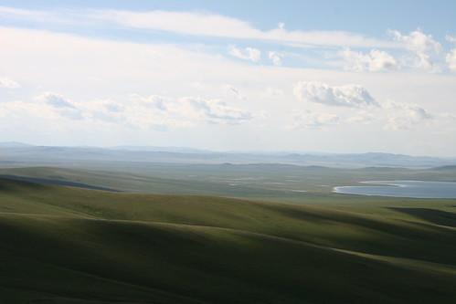 panorama mountains clouds lakes mongolia roads steppes arkhangayaimag ogiynuursum ogiylake ogiynuur ogiy