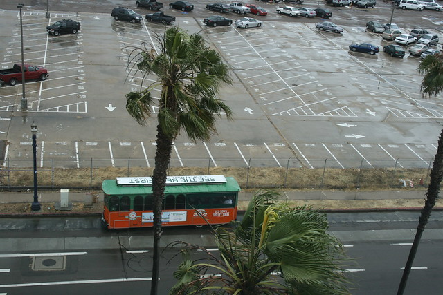 San Diego - view from Embassy Suites on Harbor Blvd.