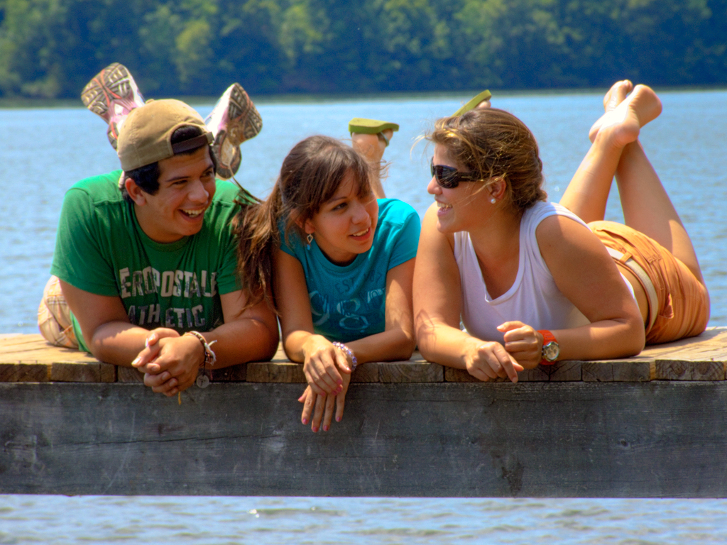 Friends | Just some of my friend in the lake | Rodrigo Suarez | Flickr