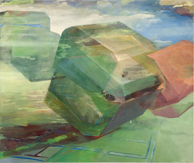 Next4, 150 x 180 cm, Acryl/Eitempera auf Nessel, 2008