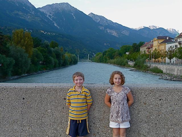 Kids in Innsbruck