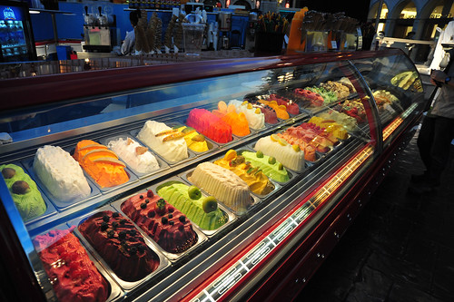 Gelato bar inside The Venetian Plaza.  Yum. | by gsloan