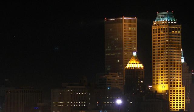 Small part of the Tulsa skyscape