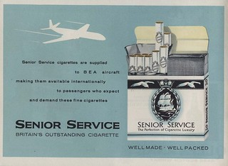 Senior Service Cigarettes - Available on Planes Everywhere   by SA_Steve