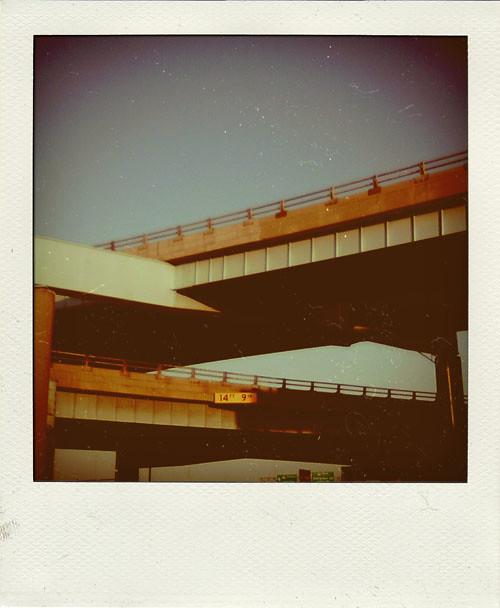 freeway polaroid