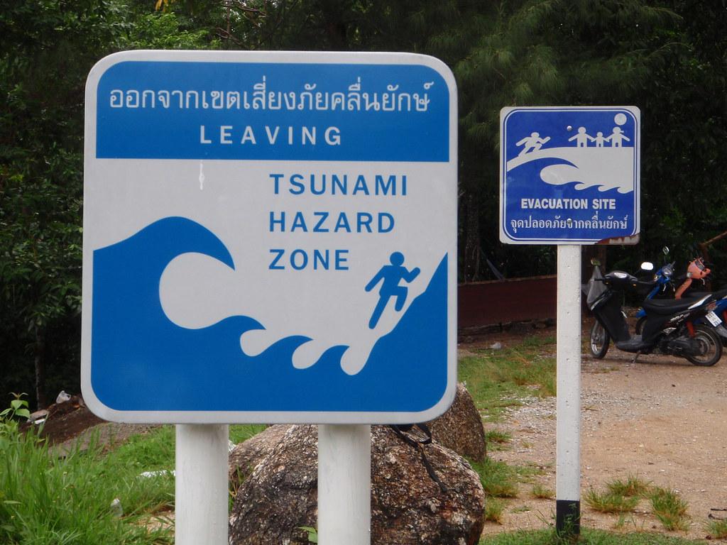Tsunami Warning Signs | Peter Flanagan | Flickr